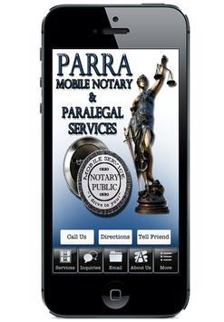 Parra Mobile Notary apk screenshot