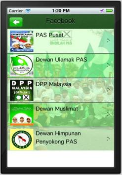 PAS Supporters apk screenshot