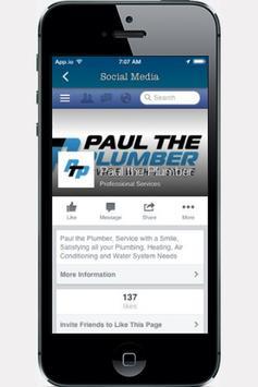 Paul the Plumber apk screenshot