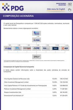 Relações com Investidores PDG apk screenshot