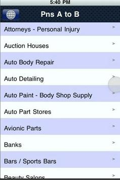 Pensacola,Fl BusinessDirectory apk screenshot