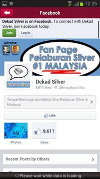 Pelaburan Silver apk screenshot
