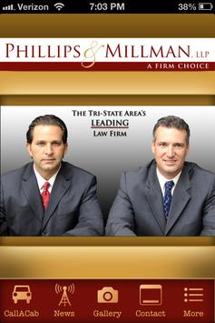 Phillips & Millman Law Office apk screenshot