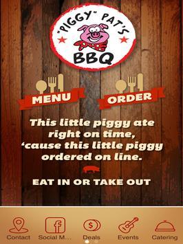 Piggy Pat's BBQ poster