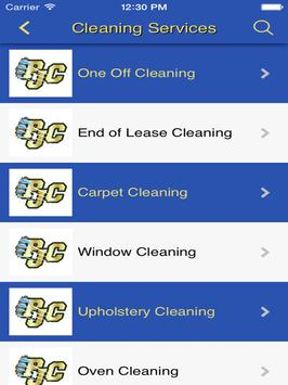 PJC General Cleaning Services apk screenshot