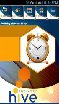 Podiatry Hive poster