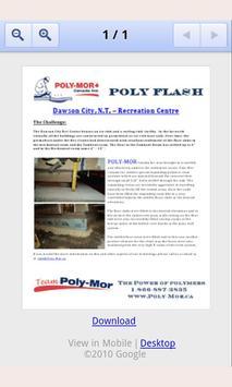 Poly-Mor Canada Inc. apk screenshot