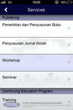 PPHBI Business & Law apk screenshot