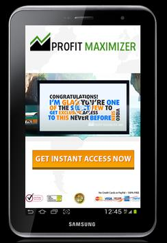 Profit Maximizer apk screenshot
