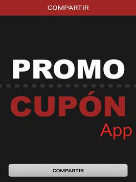 Promo-Cupón apk screenshot