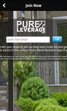 PureLeverage 100%Commissions apk screenshot