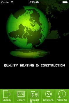 Quality Heating & Construction poster