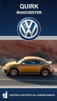QUIRK Volkswagon ManchesterNH poster