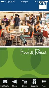 QUT Retail poster