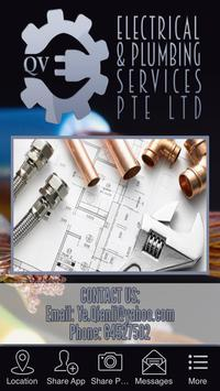QV Electrical & Plumbing Serv. poster