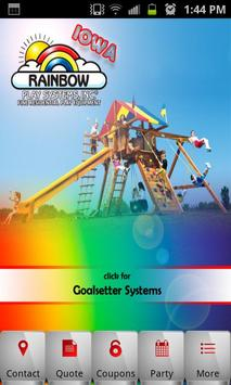 Rainbow Play Systems of Iowa poster