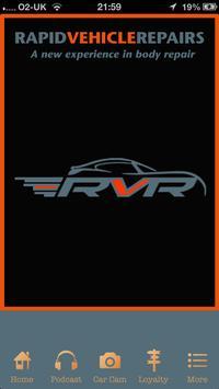 Rapid Vehicle Repairs poster
