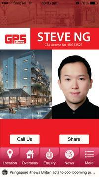 Steve Ng Real Estate Agent poster