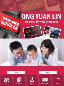 Ong Yuan Lin Financial Service apk screenshot