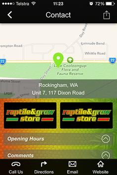 Reptile and Grow Store apk screenshot