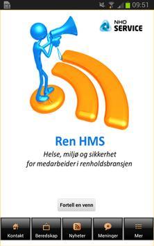 Ren HMS poster