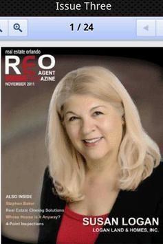 REO Agent Magazine poster