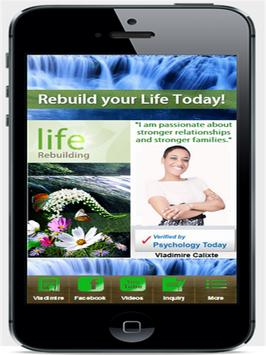 Life Rebuilding Therapy poster