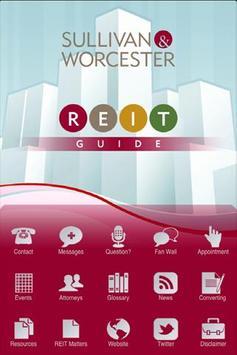 Sullivan & Worcester REITS poster