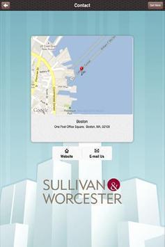 Sullivan & Worcester REITS apk screenshot