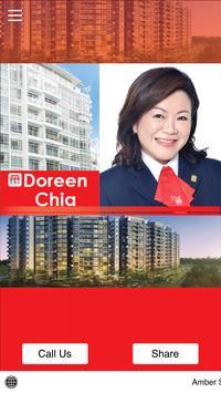 Doreen Chia Real Estate Agent poster