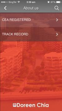 Doreen Chia Real Estate Agent apk screenshot