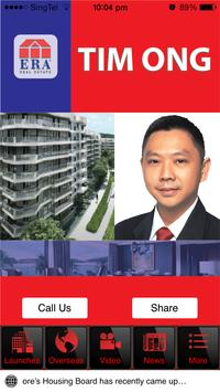 Tim Ong Real Estate Agent poster