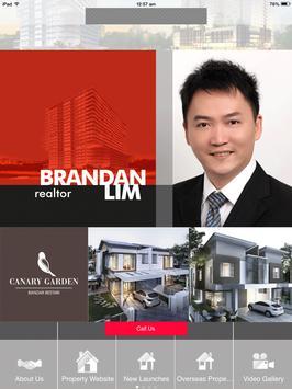 Brandan Lim Real Estate Agent apk screenshot