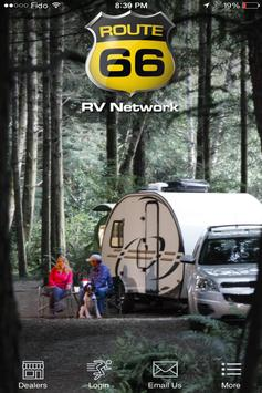 Route 66 RV Network poster