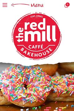 the red mill bakehouse poster