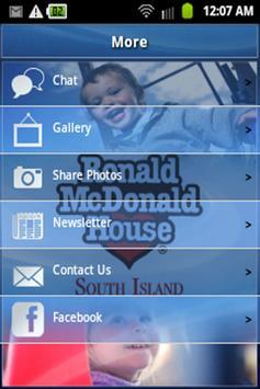 Ronald McDonald House SI apk screenshot