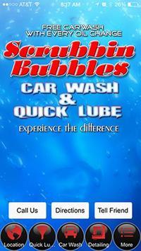 Scrubbin Bubbles poster