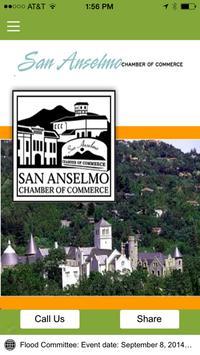 San Anselmo Chamber Commerce poster
