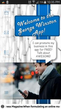 The George Winston App poster