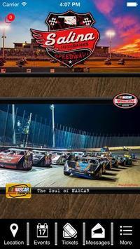 Salina Highbanks Speedway poster