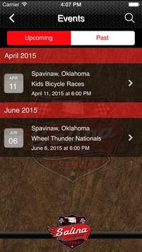 Salina Highbanks Speedway apk screenshot