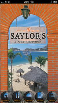 Saylor's Restaurant and Bar poster