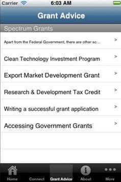 Grants Australia apk screenshot