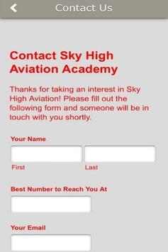 Sky High Aviation Academy apk screenshot