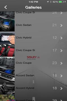 Sisley Honda apk screenshot