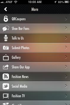 The Shoe Bar apk screenshot