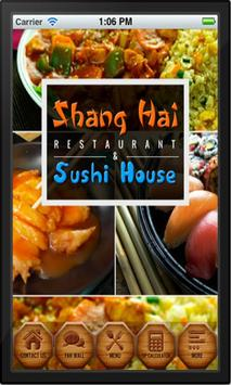 Shanghai and Sushi House poster