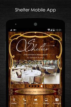Shelter Italian Bar Restaurant poster