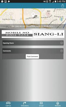 SIANG- LI DRESSMAKING HOUSE apk screenshot