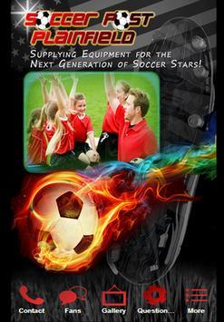 Soccer Post Plainfield poster